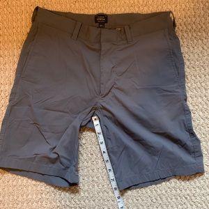 J Crew 30x8 Tech Shorts